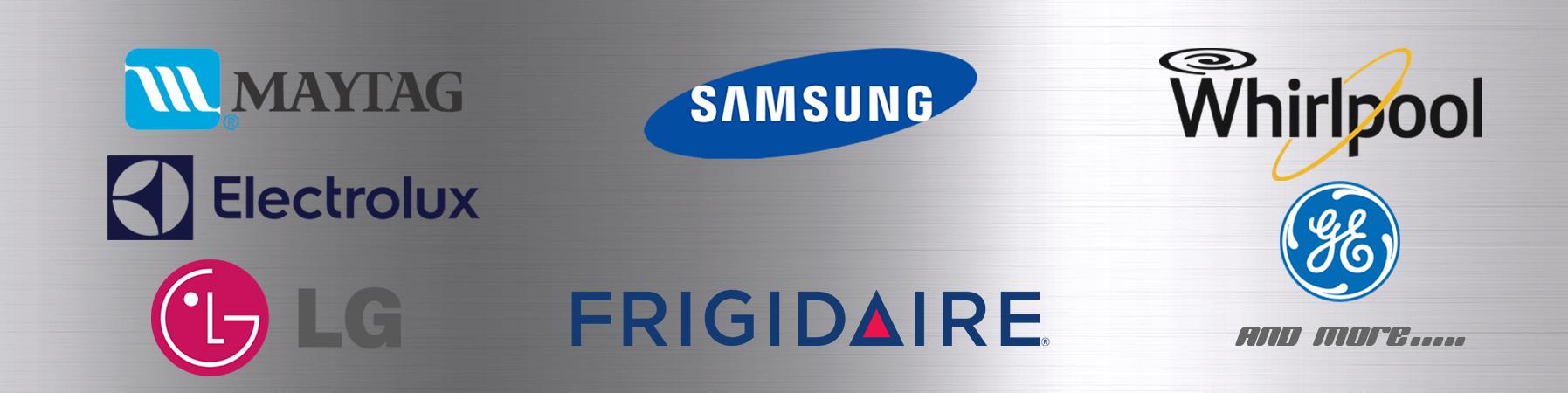 We Repair Most Major Appliance Brands!